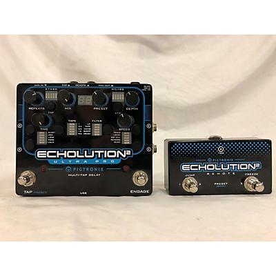 Pigtronix Echolusion 2 Ultra Pro W/remote Effect Pedal