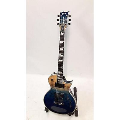 ESP Eclipse II Burl Top Solid Body Electric Guitar