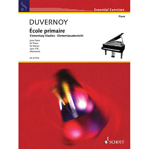 Hal Leonard Ecole Primaire Elementary Studies Op. 176 For Piano