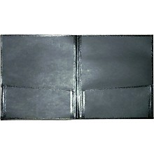 Economy Folio Black 12X14 with Expanding Pockets