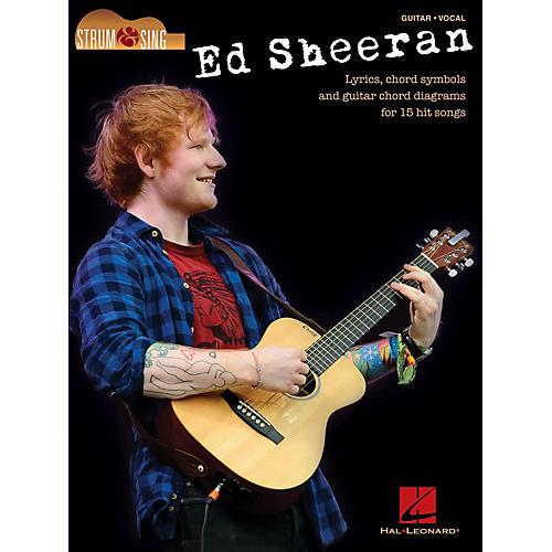 Hal Leonard Ed Sheeran - Strum & Sing Strum and Sing Series Softcover Performed by Ed Sheeran