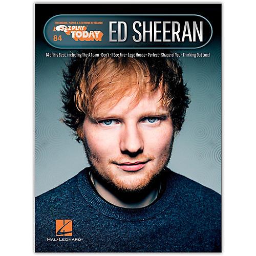 Hal Leonard Ed Sheeran E-Z Play Today Volume 32
