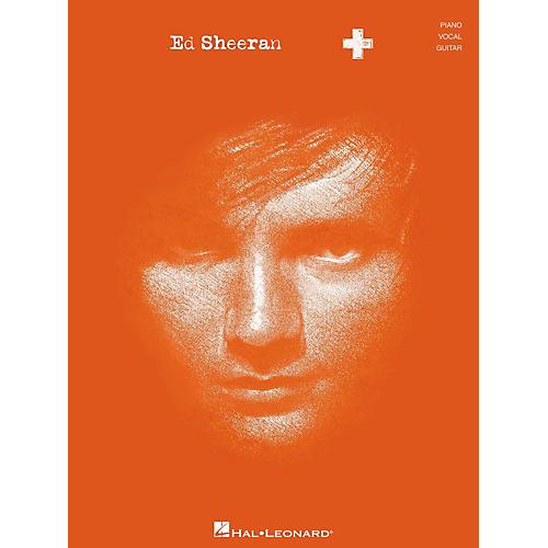 Hal Leonard Ed Sheeran + (Plus) for Piano/Vocal/Guitar (P/V/G)
