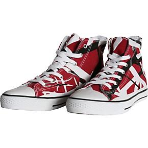 e6ac333472440f EVH Eddie Van Halen High Top Sneakers - Red