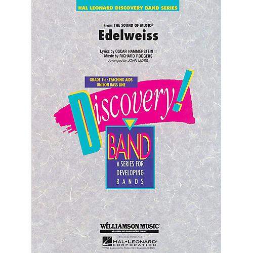 Hal Leonard Edelweiss Concert Band Level 1 1/2 Arranged by John Moss
