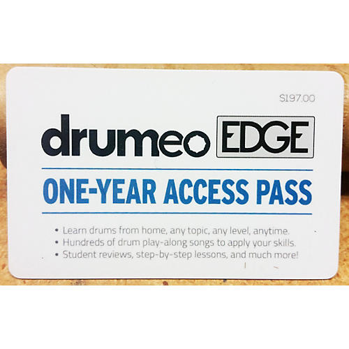 Drumeo Edge Membership Card - One Year