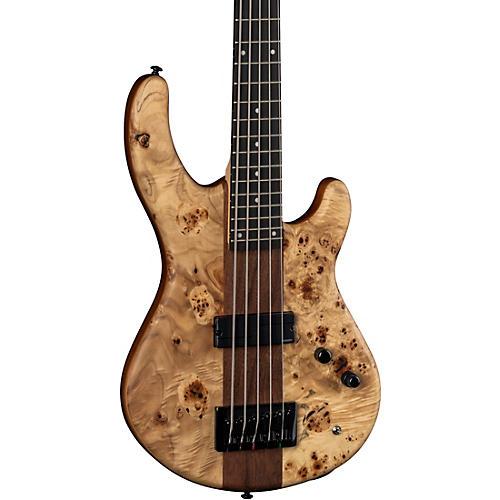 Dean Edge Pro Select Burled Poplar Electric Bass Satin Natural