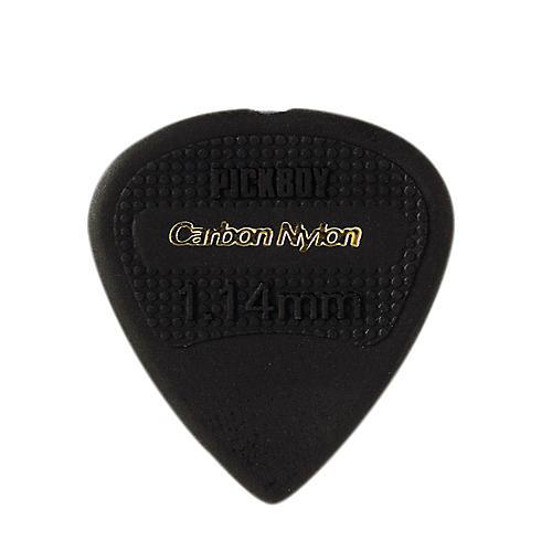 Pick Boy Edge, Sharp Tip, Carbon/Nylon Guitar Picks (10-pack) 1.14 mm