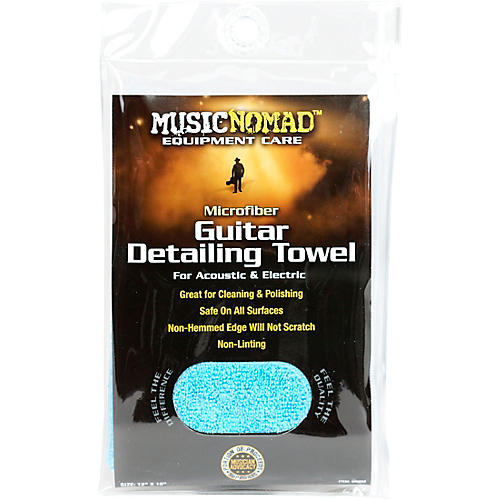 Music Nomad Edgeless Microfiber Guitar Detailing Towel