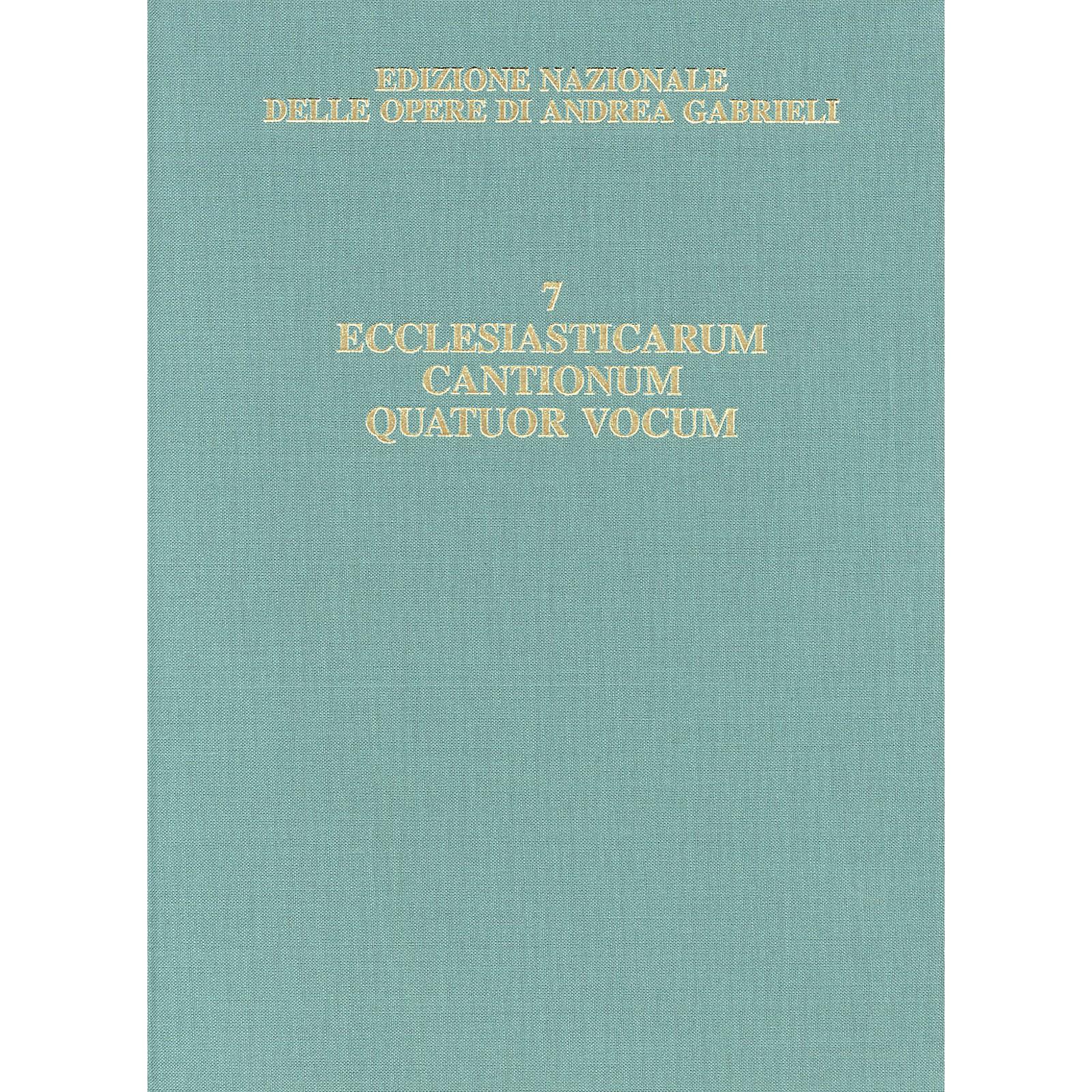 Ricordi Edizione Nazionale Delle Opere Di Andrea Gabrieli - Volume 7 Score Composed by Andrea Gabrieli