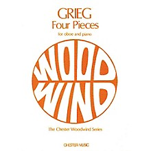 Music Sales Edvard Grieg: Four Pieces for Oboe and Piano Music Sales America Series