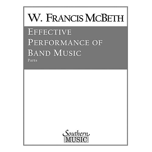 Southern Effective Performance of Band Music (Band/Band Methods) Concert Band Level 2 by W. Francis McBeth