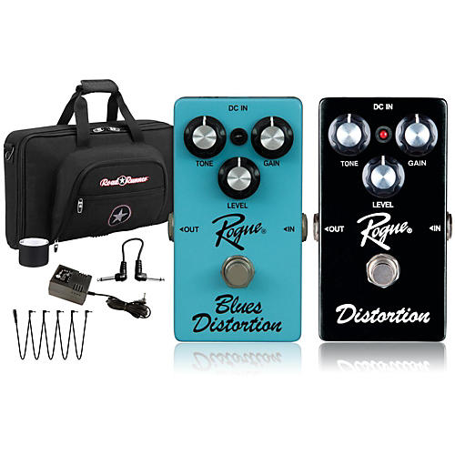 Rogue Effects Pedal Pack Blues and Distortion