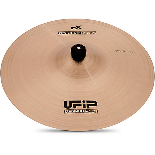 ufip effects series traditional medium splash cymbal 10 in musician 39 s friend. Black Bedroom Furniture Sets. Home Design Ideas