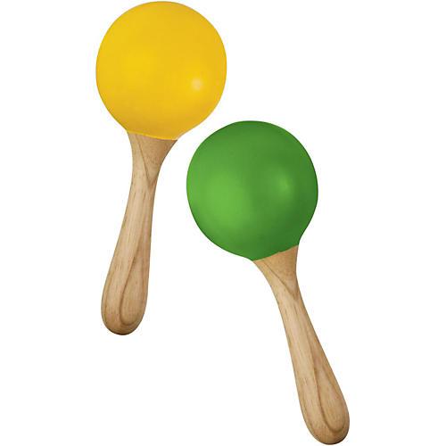 Green Tones Egg Shaped Maracas