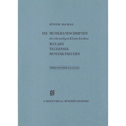 G. Henle Verlag Ehemalige Klosterkirchen Weyarn, Tegernsee und Benediktbeuern Henle Books Series Softcover
