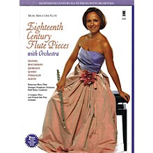 Music Minus One Eighteenth Century Flute Pieces with Orchestra Music Minus One Series Softcover with CD