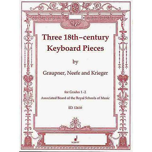 Schott Eighteenth Century Piano Pieces 3 Schott Series