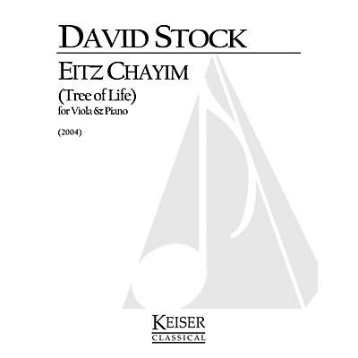 Lauren Keiser Music Publishing Eitz Chayim (Tree of Life) (Viola with piano) LKM Music Series Composed by David Stock