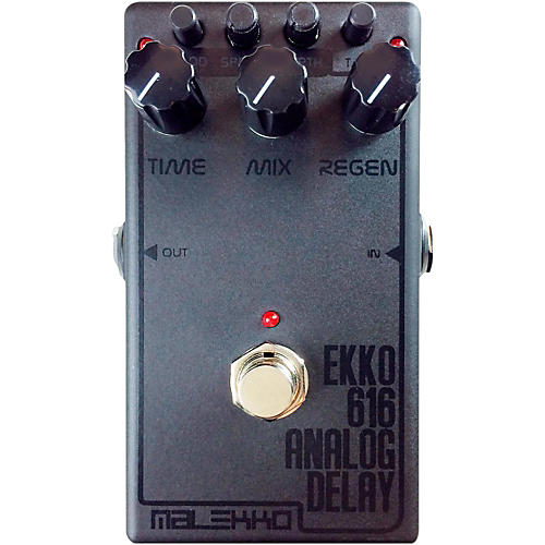 Malekko Heavy Industry Ekko 616 MKII Dark Analog Delay Guitar Effects Pedal