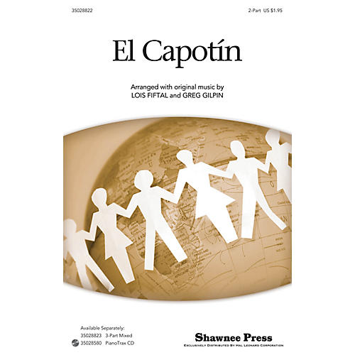 Shawnee Press El Capotín 2-Part arranged by Lois Fiftal