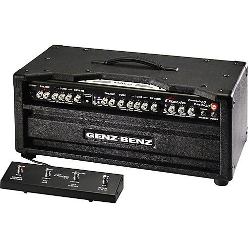 genz benz el diablo 60w guitar amp head musician 39 s friend. Black Bedroom Furniture Sets. Home Design Ideas