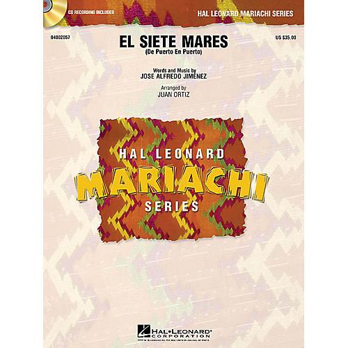 Hal Leonard El Siete Mares (De Puerto en Puerto) Concert Band Level 3 Arranged by Juan Ortiz