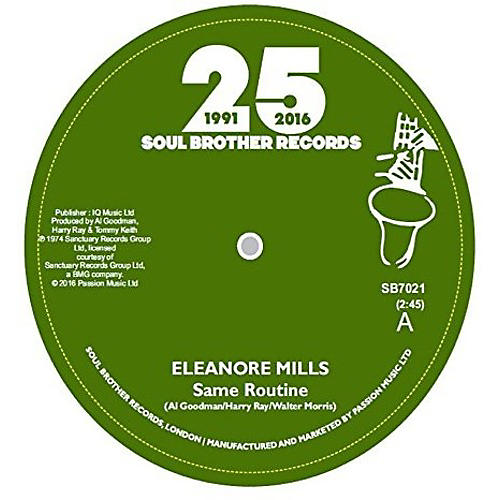 Alliance Eleanore Mills - Same Routine / I'm Gonna Get You