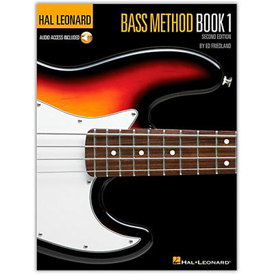 Hal Leonard Electric Bass Method Book I (Book/Online Audio)
