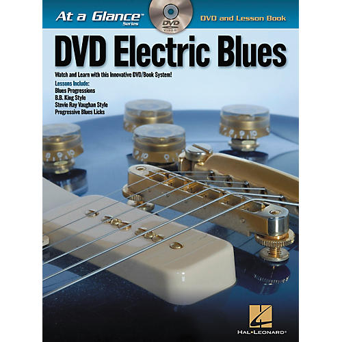 Hal Leonard Electric Blues - At A Glance (Book/DVD)