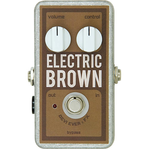 Devi Ever Electric Brown Overdrive Guitar Effects Pedal
