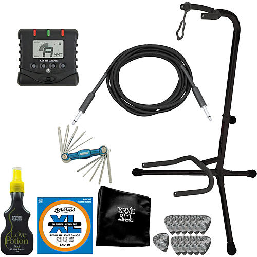 Gear One Electric Guitar Gigging Pro Accessory Pack