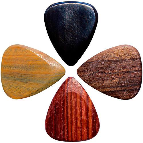 Timber Tones Electric Guitar Picks, 4-Pack