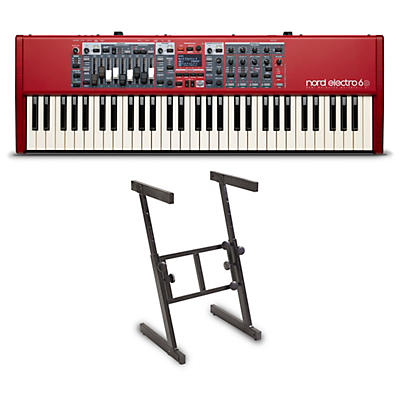 Nord Electro 6D 61-Key Keyboard and Z Stand