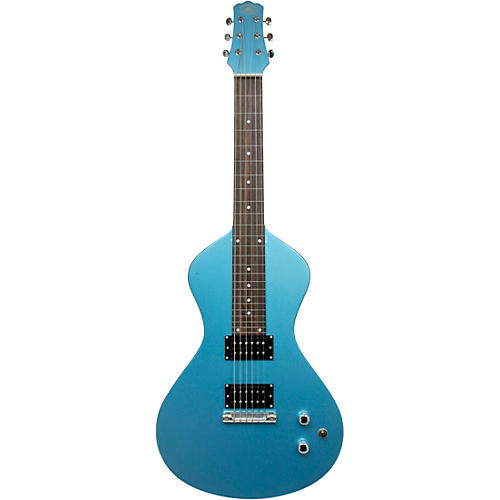 Asher Guitars & Lap Steels Electro Hawaiian Junior Lap Steel Guitar Lake Placid Blue
