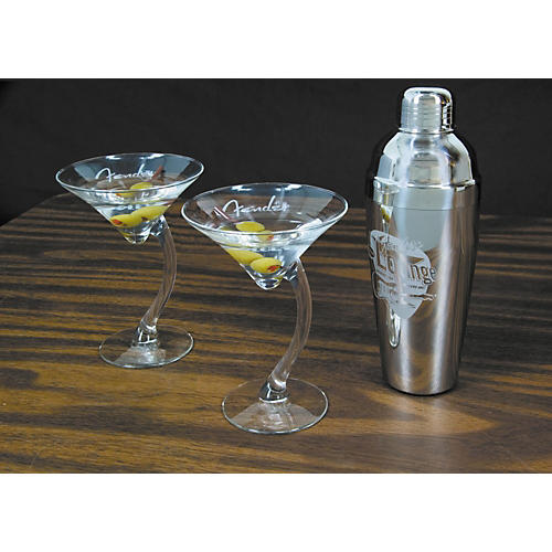 Fender Electro Lounge Martini Set