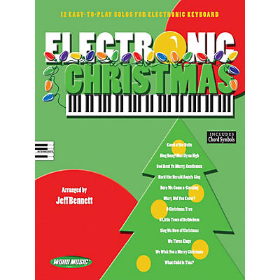 Word Music Electronic Christmas Sacred Folio Series