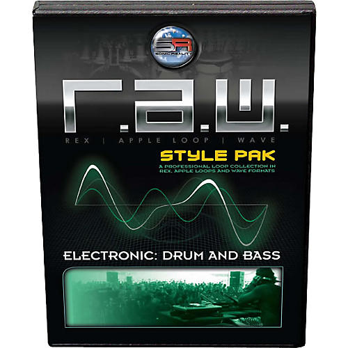 Sonic Reality Electronic: Drum and Bass Style Pak