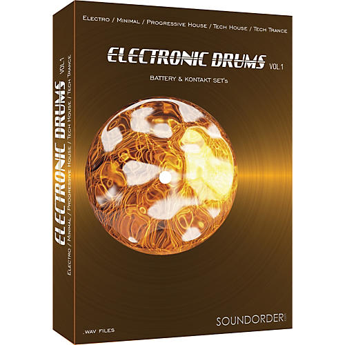 Best Service Electronic Drums Vol. 1 Sample Library
