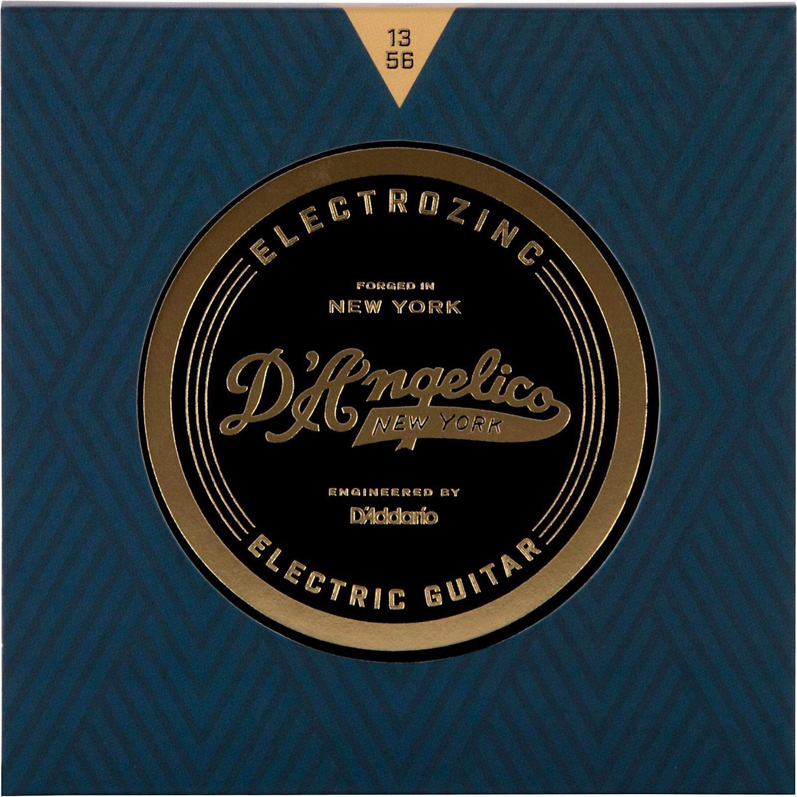 D'Angelico Electrozinc Jazz 13-56 Medium Electric Guitar Strings
