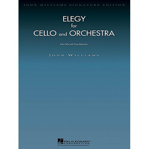 Hal Leonard Elegy for Cello and Orchestra John Williams Signature Edition - Strings Series