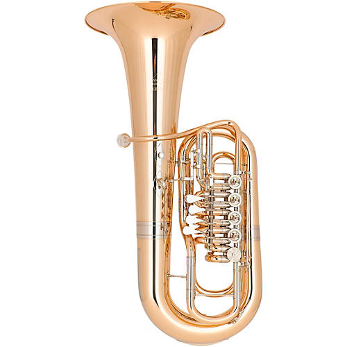 Miraphone Elektra 481B Series 5-Valve 5/4 F Tuba Gold Brass Lacquer