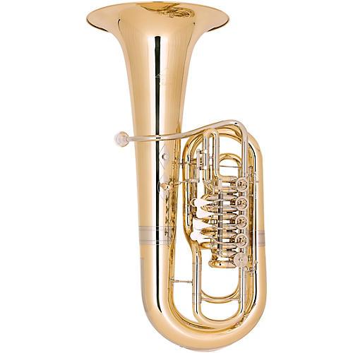 Miraphone Elektra 481B Series 5-Valve 5/4 F Tuba Yellow Brass Lacquer