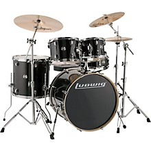 Element Evolution 5-Piece Drum Set Black Sparkle
