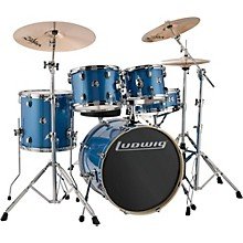 Element Evolution 5-Piece Drum Set Blue Sparkle