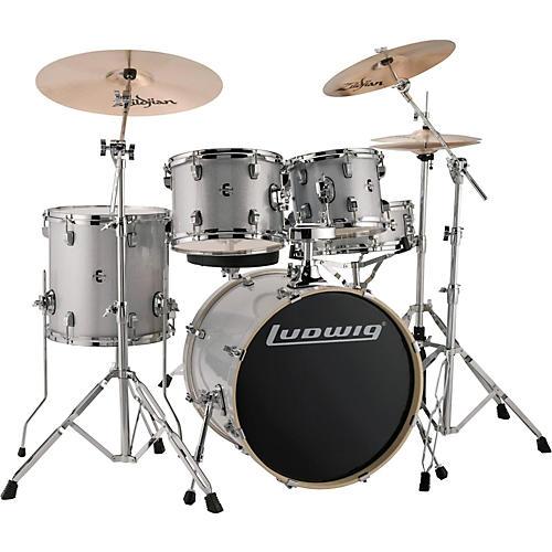 ludwig element evolution 5 piece drum set musician 39 s friend. Black Bedroom Furniture Sets. Home Design Ideas