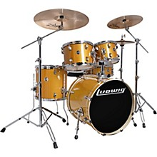 "Ludwig Element Evolution 5-piece Drum Set with 22 in. Bass Drum and Zildjian ""I"" Series Cymbals"