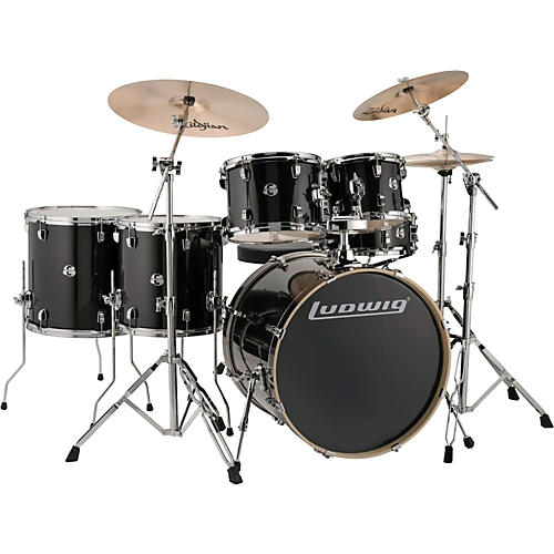 Ludwig Element Evolution 6-piece Drum Set with 22