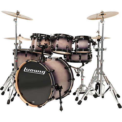 Ludwig Element Lacquer 6-Piece Power Fusion Shell Pack