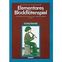 Schott Elementary Blockflotenspielstudent Schott Series